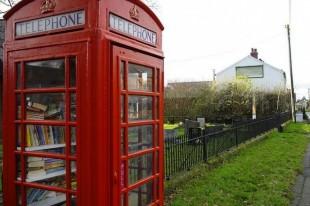 Красная телефонная будка: обретая новую жизнь