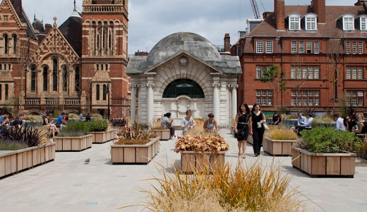 Секретный сад в Лондоне: островок тишины в самом сердце города