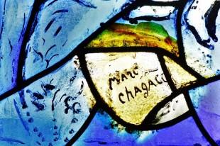 Витражи Марка Шагала в английской деревне